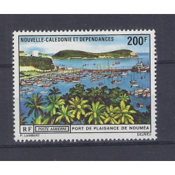 NEW CALEDONIA - 200 FRANCS - NOUMEA HARBOR
