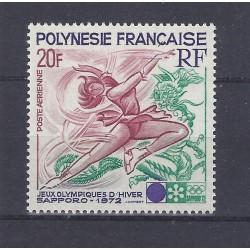 POLYNÉSIE FRANÇAISE - 20 FRANCS - SAPPORO 1972