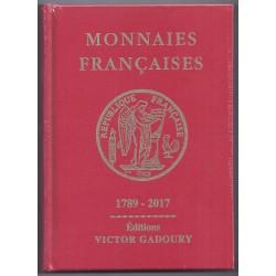 MONNAIES FRANCAISES 1789 - 2017 GADOURY - REF1840/17