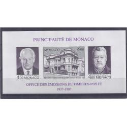 MONACO - 1987 - 4 FRANCS RAINIER III + 4 FRANCS LOUIS II + 8 FRANCS VILLA MIRAFLORES