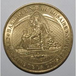 County 65 - LOURDES - BASILICA OF NOTRE DAME DU ROSAIRE - CENTENARY - MDP - 2001