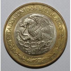 MEXIQUE - KM 636 - 10 PESOS - 2000 - FDC