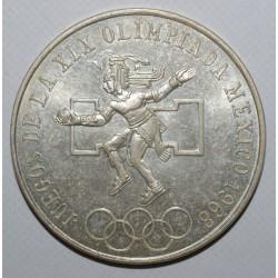 MEXIQUE - KM 479 - 25 PESOS - 1968 - FDC