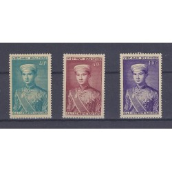 VIET NAM - 3 STAMPS - THE PRINCE BAO-LONG