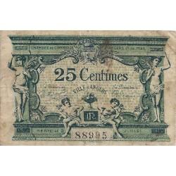 49 - ANGERS - CHAMBRE DE COMMERCE - 25 CENTIMES 1915 - TRES BEAU