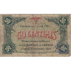 52 - ST DIZIERS - CHAMBRE DE COMMERCE - 50 CENTIMES 1921 - TRES BEAU