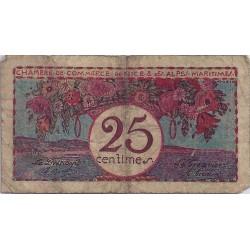 06 - NICE - CHAMBRES DE COMMERCE - 25 CENTIMES - NON DATE - TRES BEAU