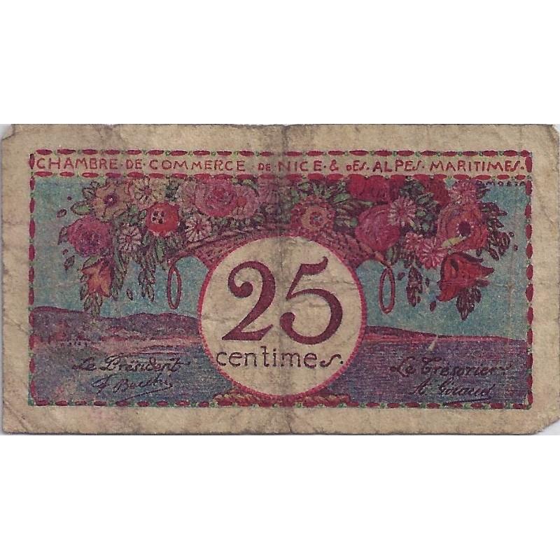 06 nice chambres de commerce 25 centimes non date - Chambre des commerces nice ...