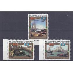 MAURITANIA - 3 STAMPS - 45 FRANCS + 100 FRANCS + 250 FRANCS 1972 - UNESCO - VENICE