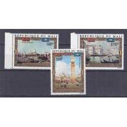 MALI - 3 TIMBRES - 130 FRANCS + 270 FRANCS + 280 FRANCS - UNESCO - VENISE