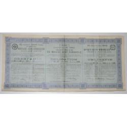 RUSSIE 1903 - CHEMINS DE FER MOSCOU-KIEV-VORONEGE - OBLIGATION DE 187,50 ROUBLES