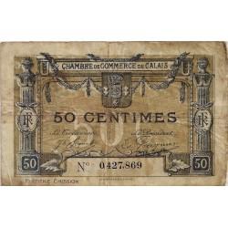 62 - CALAIS - CHAMBRE DE COMMERCE - 50 CENTIMES 1922 - TRES BEAU