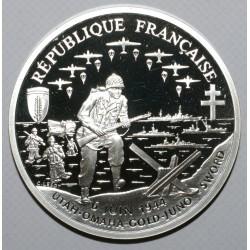 KM 1014 - 50e ANNIV DU DEBARQUEMENT - 1 FRANC 1993 - Belle epreuve