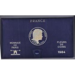 COFFRET FLEUR DE COIN 1984 TRANCHE B
