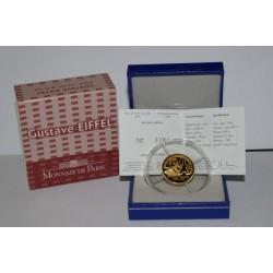GUSTAVE EIFFEL - 1832 - 1923 - 50 EURO 2009 - OR - BELLE EPREUVE