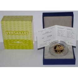 UNESCO - CHATEAU DE VERSAILLES - 50 EURO 2011 - OR - BELLE EPREUVE
