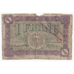 90 - BELFORT - CHAMBRE DE COMMERCE - 1 FRANC 1918 - BEAU