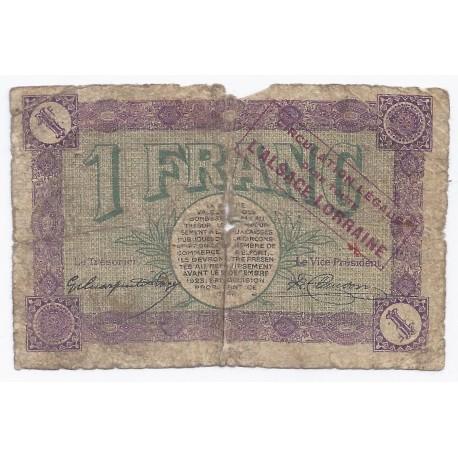 90 belfort chambre de commerce 1 franc 1918 beau - Chambre du commerce belfort ...