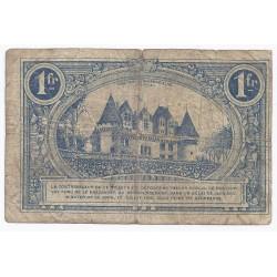 24 - BERGERAC - CHAMBRE DE COMMERCE - 1 FRANC 1920 - TRES BEAU