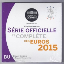 FRANCE - COIN SET BU EURO 2015 - 8 COINS