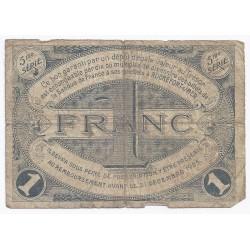 17 - ROCHEFORT - CHAMBRE DE COMMERCE - 1 FRANC 1920 - TRES BEAU