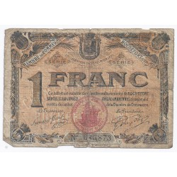 COUNTY 17 - ROCHEFORT - CHAMBER OF COMMERCE - 1 FRANC 1920 - F