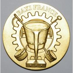 02 - MEDAILLE - BAXI FRANCE - BRONZE DORE