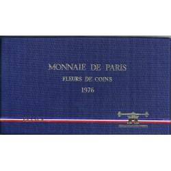COFFRET FLEUR DE COIN 1976