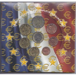 FRANCE - COFFRET EURO BRILLANT UNIVERSEL 2003 - 8 PIECES