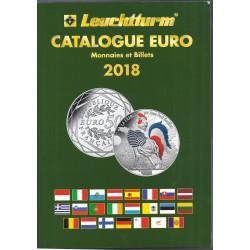 CATALOGUE EURO MONNAIES ET BILLETS 2018 - LEUCHTTURM - 357299