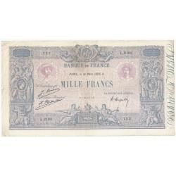 FAY 36/42 - 1000 FRANCS BLEU ET ROSE - 18/03/1926 - TRES BEAU+ - PICK 67