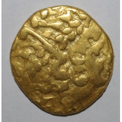 AMBIANI - REGION OF AMIENS - GOLD STATER - DISLOQUED HORSE - VF