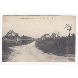 02000 - CHEVREGNY - APRÈS GUERRE - LE BAS DU PAYS - ROUTE DE TUCY