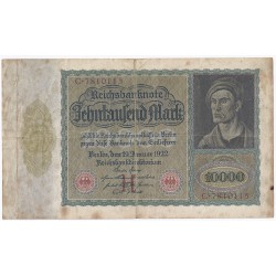 ALLEMAGNE - PICK 70 - 10 000 MARK - 19/01/1922 - TRES TRES BEAU