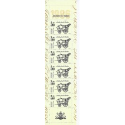 "Y&T BC2411A - STAMP BOOKLET ""JOURNEE DU TIMBRE"" - 6 STAMPS OF 2.20 + 0.60 FRANC - 1986 - UNC"