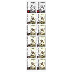 """Y&T 2612a - CARNET """"CROIX ROUGE"""" N° 2038 DE 10 TIMBRES-POSTES DE 2.20 F + 0.60 F - 1989 - NEUF"""