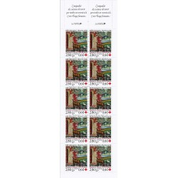 "Y&T 2915a - STAMP BOOKLET ""CROIX ROUGE"" NUMBER 2043 - 10 STAMPS OF 2.80 + 0.60 FRANC - 1994 - UNC"
