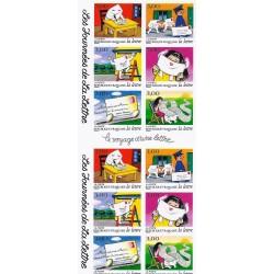 """Y&T BC3071a - CARNET """"LES JOURNEES DE LA LETTRE"""" DE 12 TIMBRES-POSTES (36 FRANCS) - 1997 - NEUF"""