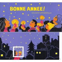 "STAMP BOOKLET ""BONNE ANNEE"" - 1 STAMP - UNC"