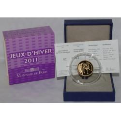 EISKUNSTLAUF - 50 EURO 2011 - GOLD - PP