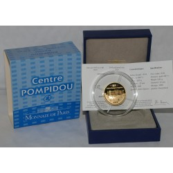 CENTRE GEORGES POMPIDOU - 50 EURO 2010 - GOLD