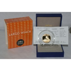 LARGO WINCH - 50 EURO 2012 - OR - BELLE EPREUVE