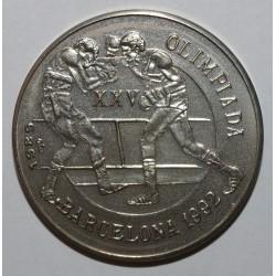 CUBA - KM 284 - 1 PESO 1989 - JEUX OLYMPIQUES 1992