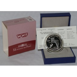 AUDOUIN'S GULL - 10 EURO 2012 - SILVER - PROOF