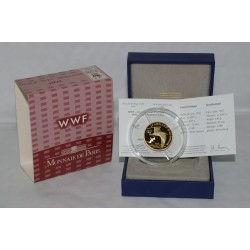 AUDOUIN'S GULL - 50 EURO 2011 - GOLD - PROOF
