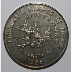 CUBA - KM 246 - 1 PESO 1988 - CHAMPIONNAT D'EUROPE DE FOOTBALL
