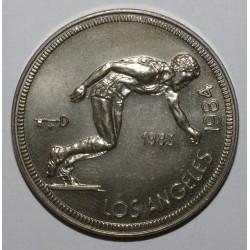 CUBA - KM 173 - 1 PESO 1983 - 1984 OLYMPICS - UNC