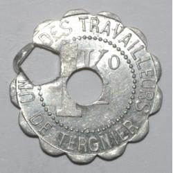 TERGNIER ( 02 ) - 1 Kilo PAIN - ND - CT Rond et octogone - GE 2.10