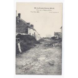 02190 - BERRY-AU-BAC - LA GRANDE GUERRE 1914-15 - UNE RUE