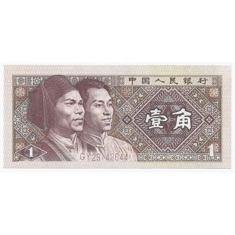 CHINE - PICK 881 - 1 JIAO 1980 - NEUF